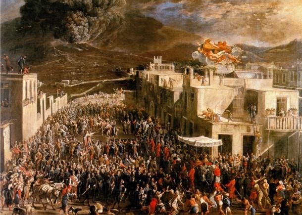 San Gennaro e il Vesuvio
