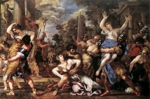 Pietro da Cortona, Il Ratto delle Sabine, 1627-29, Olio su tela, Musei Capitolini, Roma.