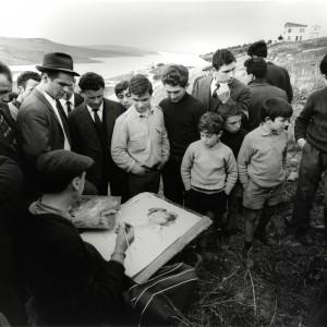 Toni Nicolini - Ernesto Treccani - lago Trinità 1967