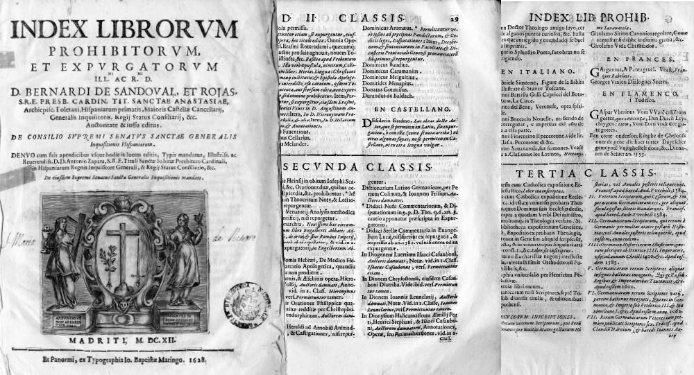 Index Librorum Prohibitorum: inquisizione e censura libraria in Italia