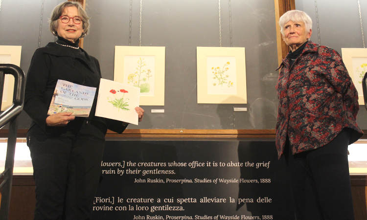 """""""Le ghirlande degli dei"""" in mostra all'Orto Botanico di Palermo"""