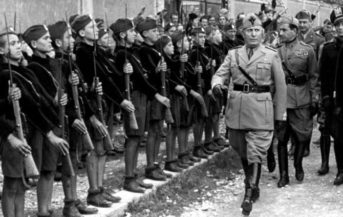 Sansepolcristi e fascisti