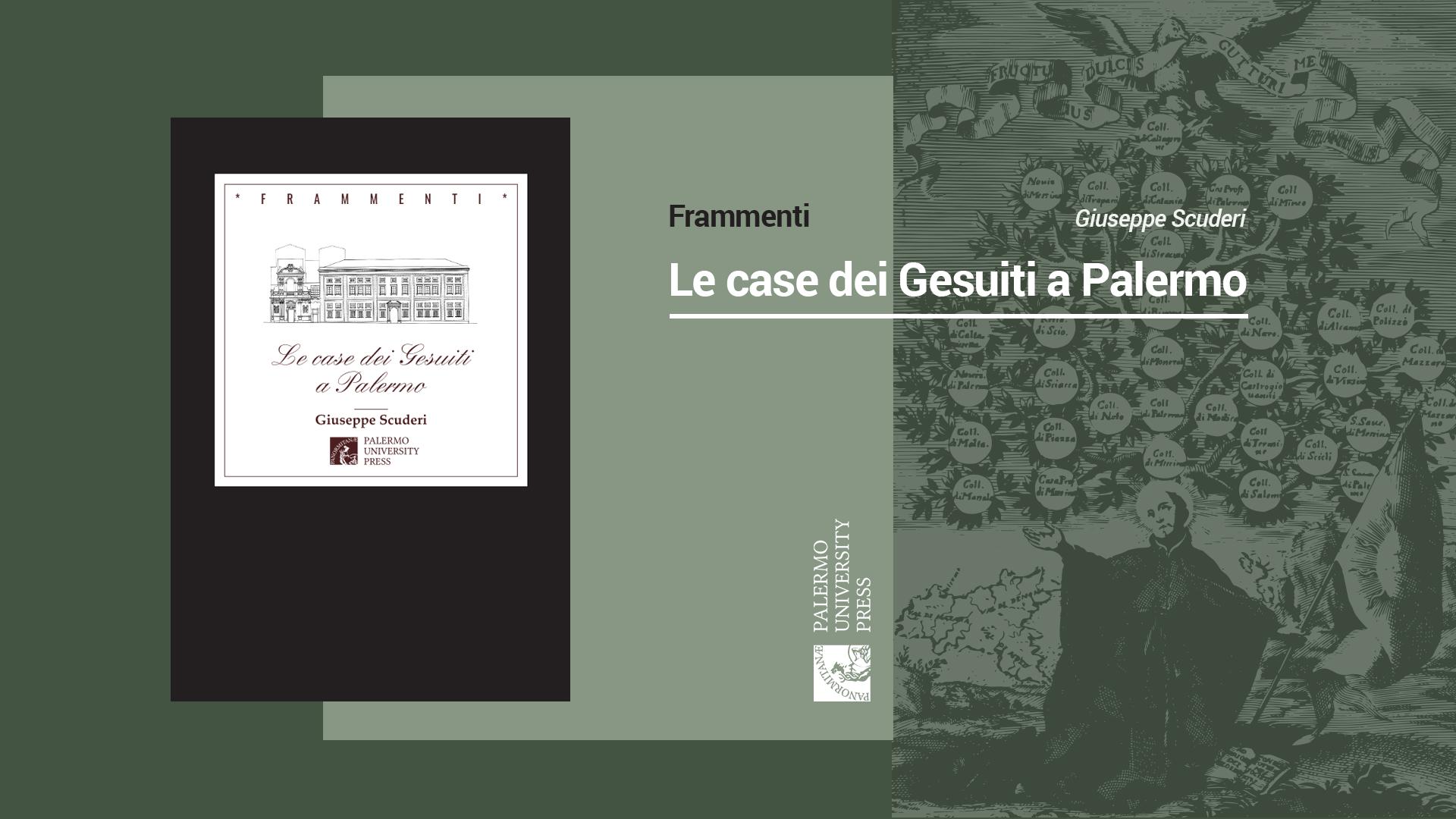 """I Gesuiti a Palermo nel nuovo studio di Giuseppe Scuderi: quando la parola diventa """"casa"""""""