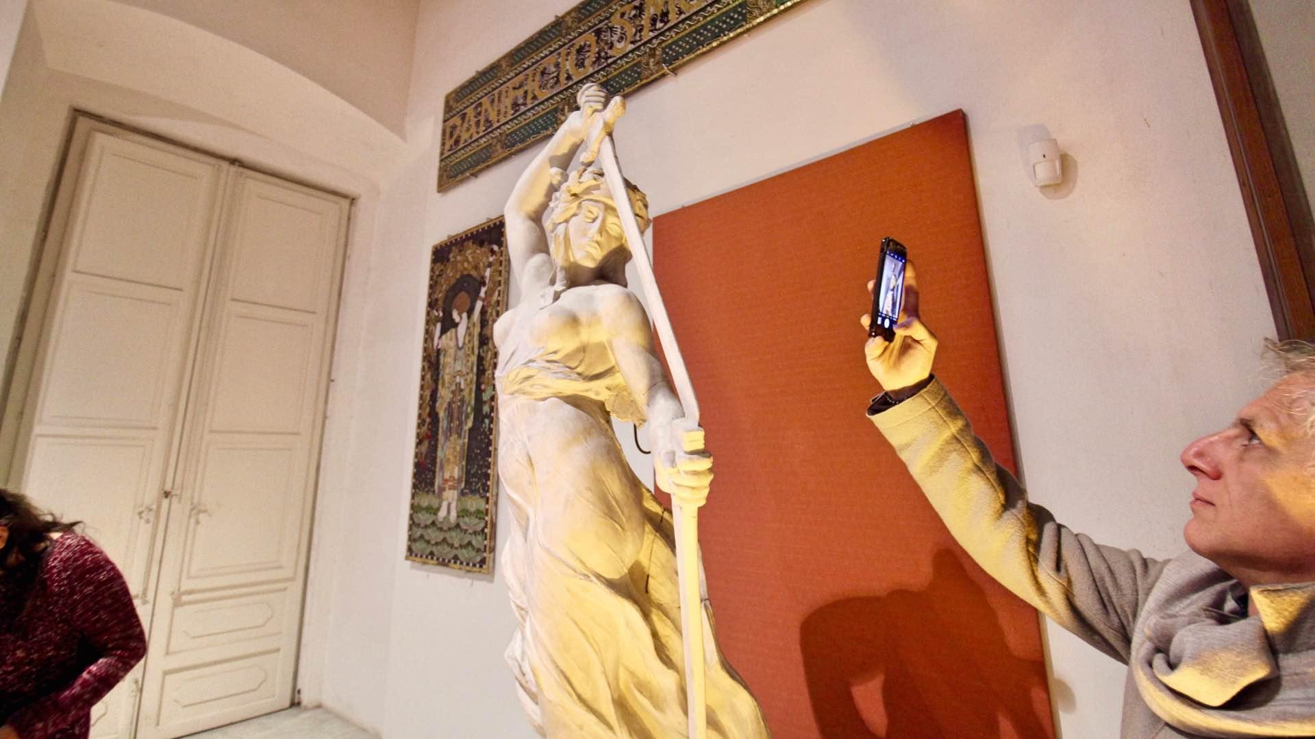 La Fondazione Sicilia restaura i gessi-bozzetto di Antonio Ugo