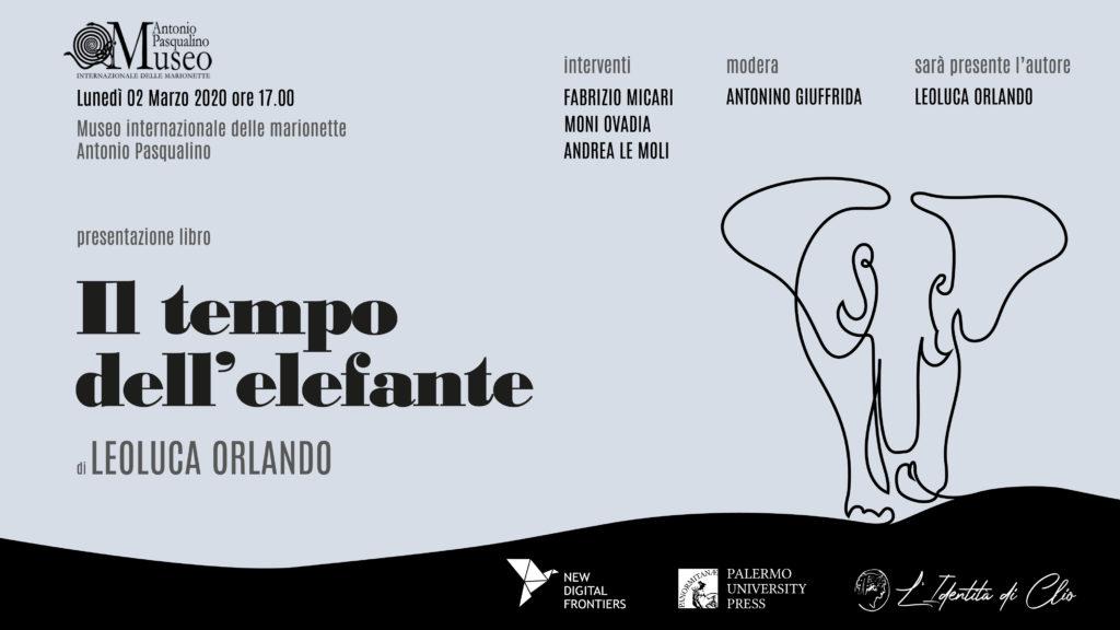 Il tempo dell'elefante - Leoluca Orlando