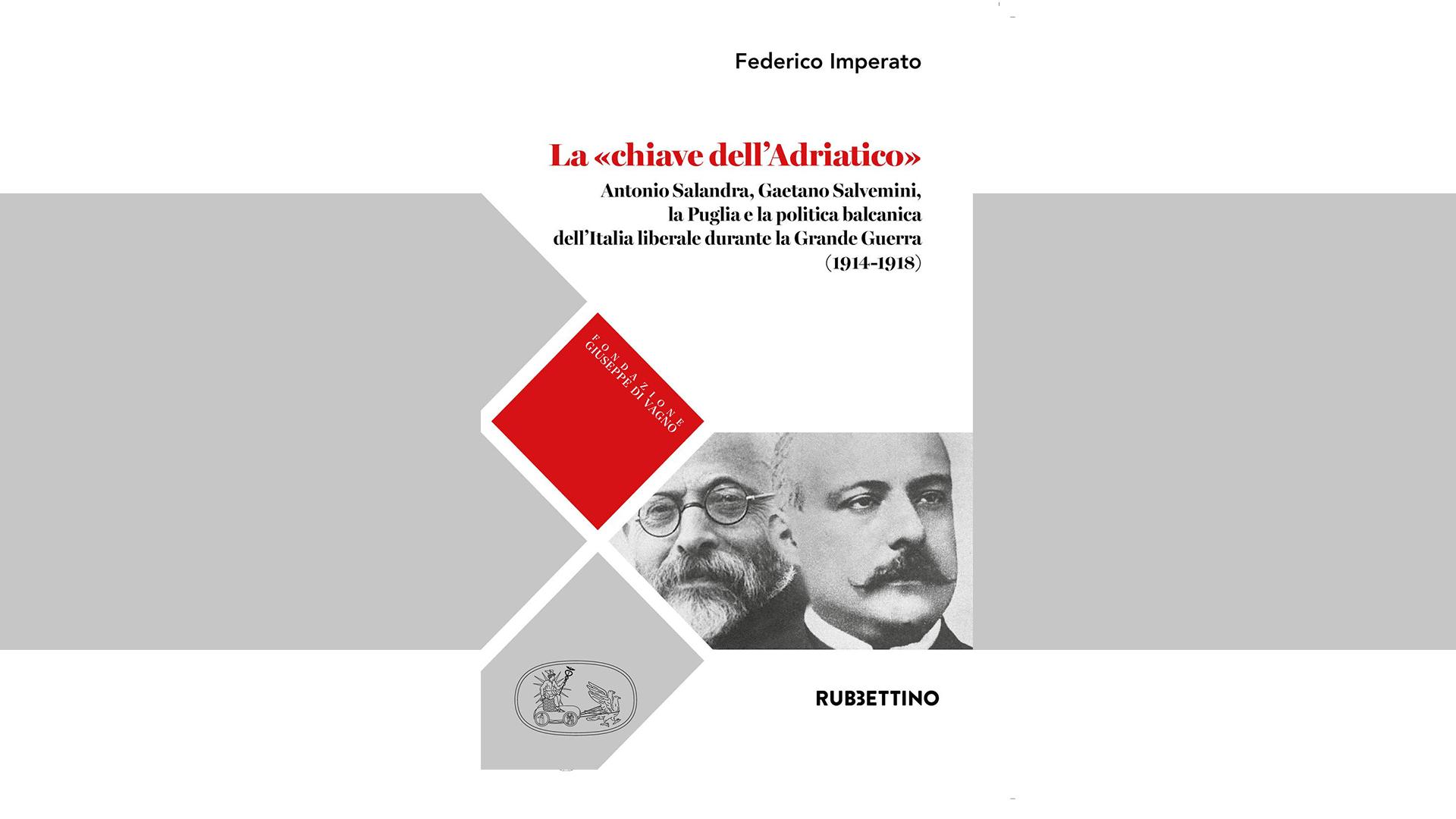 La centralità della Puglia e dei suoi uomini, l'ultimo libro di Federico Imperato