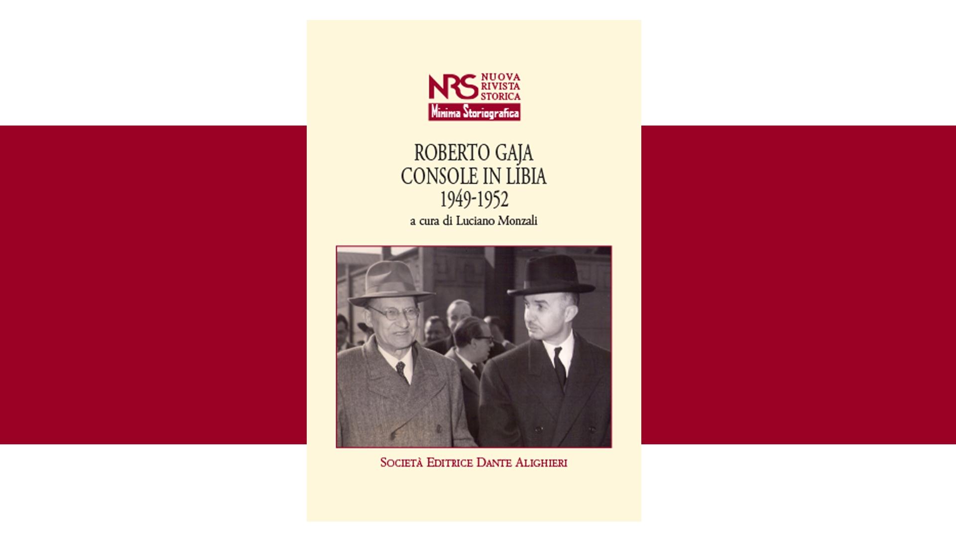 Roberto Gaja Console in Libia 1949-1952