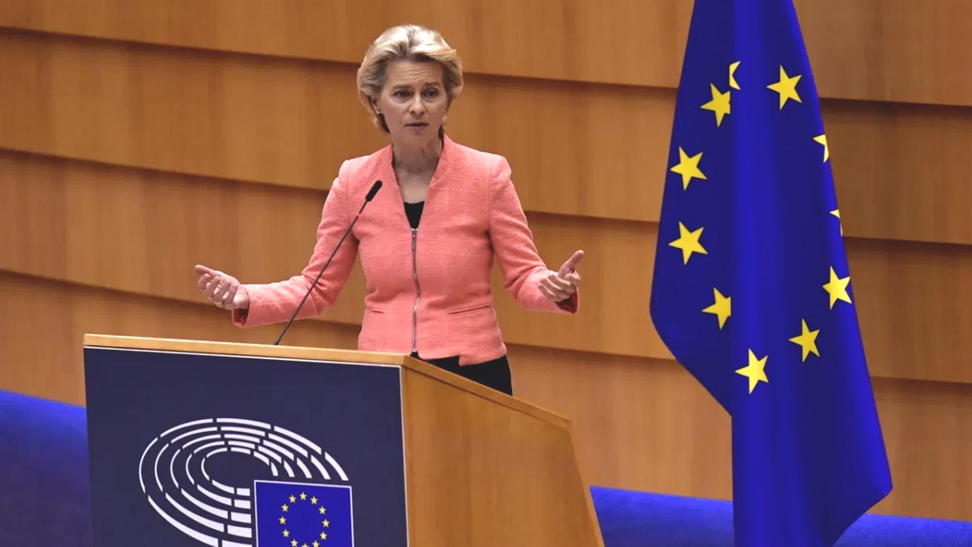 Stato Unione 2020: il discorso di Ursula von der Leyen
