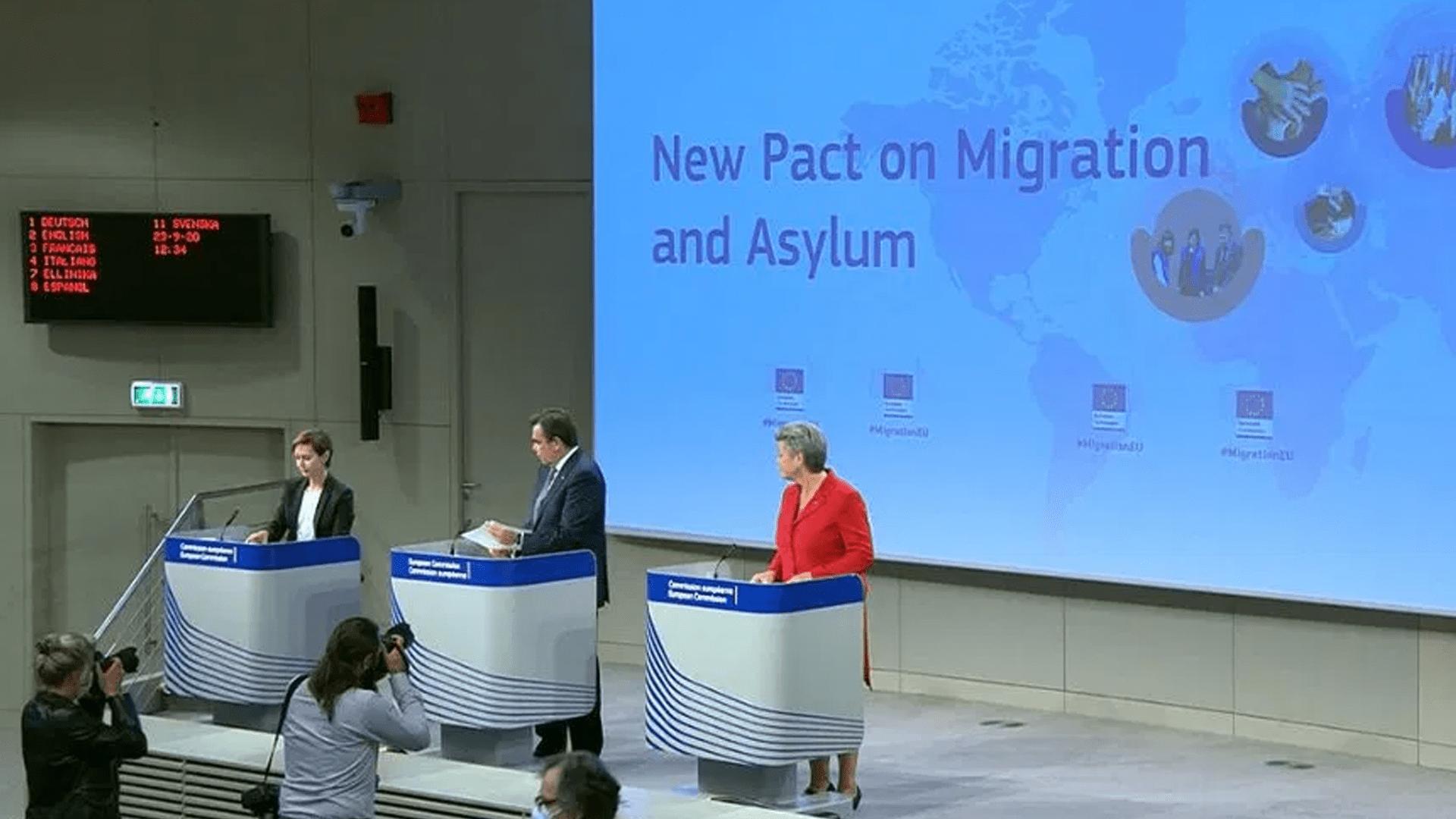 Il nuovo patto europeo sulla migrazione e l'asilo