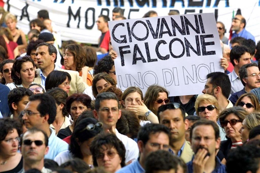giovanni falcone commemorazione