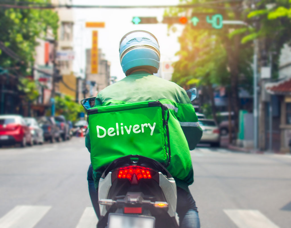 food delivery covid
