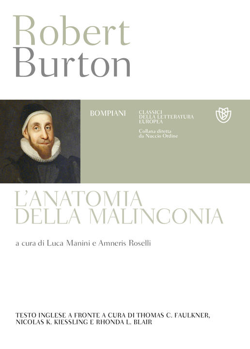 Robert Burton The Anatomy of Melancholy