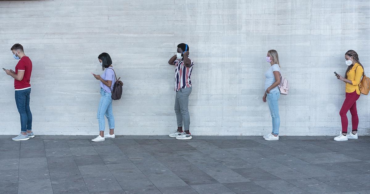 Distanziamento sociale: aumentano casi di ansia e depressione, soprattutto negli adolescenti