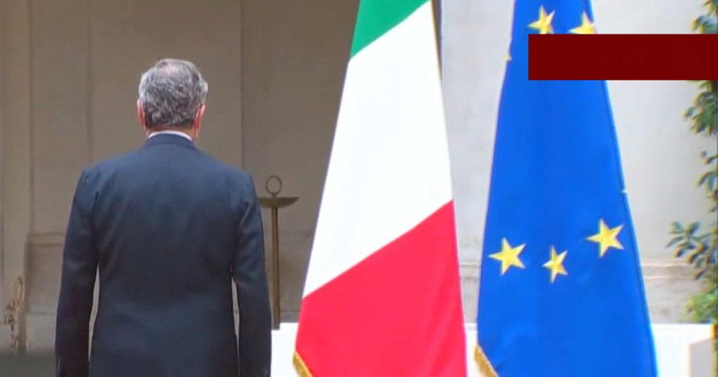 giuramento cerimoniale Mario Draghi