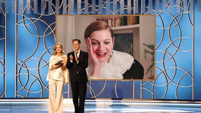 Golden Globe 2021 Emma Corrin