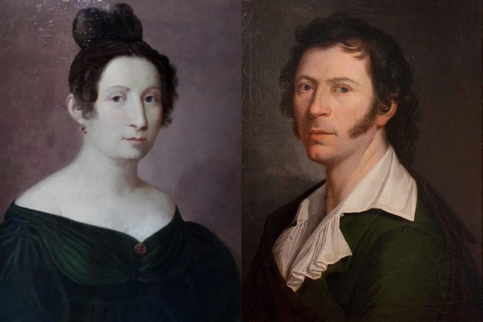 Il ritratto di Giuseppe Patania raffigurante Maria Felice Settimo, principessa di Fitalia
