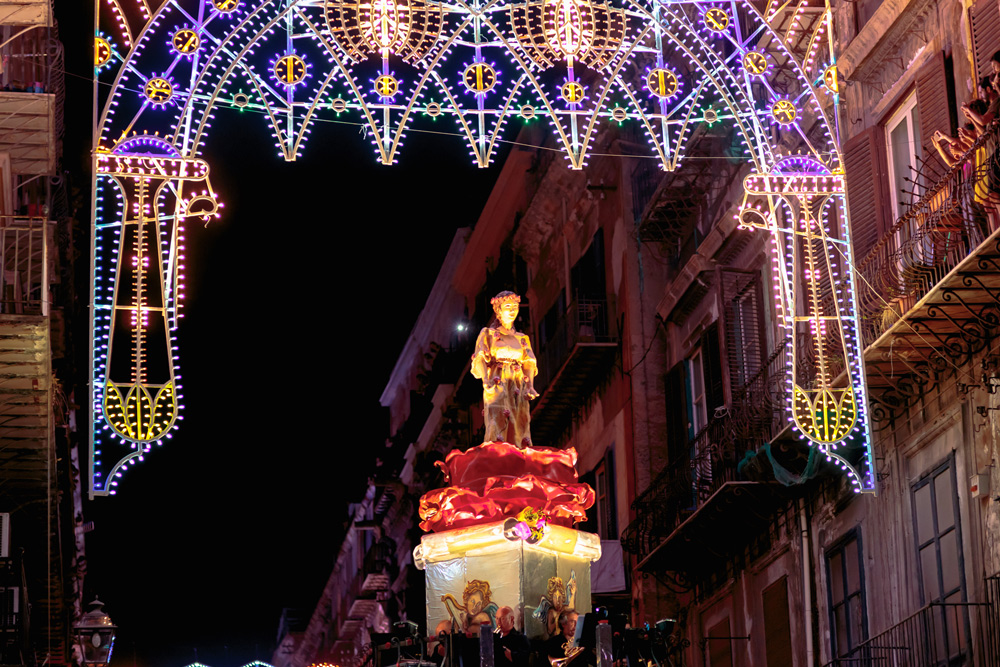 Santa Rosalia festino Palermo