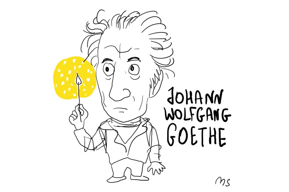Goethe - Marco Serpieri illustratore